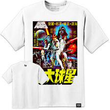STAR WARS NEW HOPE RARE JAPANESE MOVIE POSTER T SHIRT S/3XL ROGUE ONE VIII