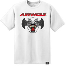 AIRWOLF RETRO 80'S DISTRESSED T SHIRT DARK CRYSTAL Labyrinth Thundercats 80s 90s