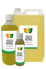 PEACH KERNEL Oil Cold Pressed Natural Carrier Massage Base Aromatherapy