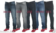 Mens Boys Designers Conspiracy Skinny Fit Jeans Denim Chinos 5 Clours All Sizes