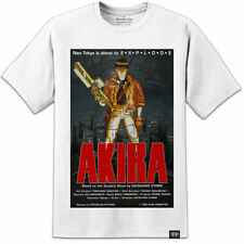 AKIRA MANGA T SHIRT - JAPANESE ANIME KANEDA - (S-2XL) AWESOME HIGH QUALITY PRINT
