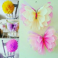 wedding party birthday decorations tissue paper pompoms pom poms mixed sizes
