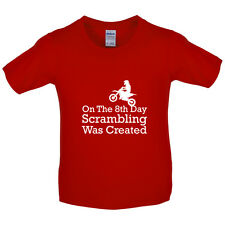 On The 8th Day Scrambling Was Created - Kids / Childrens T-Shirt - Trials
