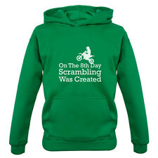 On The 8th Day Scrambling Was Created - Kids / Childrens Hoodie - Trials