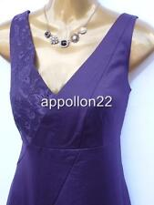 New Monsoon CARMEL LACE Purple Evening Dress szs 14 18 Wedding/Party
