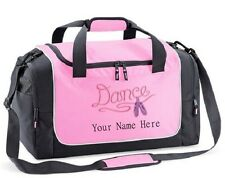 Personalised Dance Holdall Travel Sport Kit Locker Bag with your name Quadra