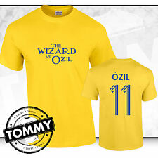 AFC Mesut Ozil T-Shirt, Ozil tshirt, Wizard of Ozil Arsenal Away T-Shirt