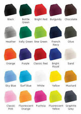MENS WOMENS WOOLLY SUPER SOFT WINTER KNITTED HAT CAP - BRAND NEW