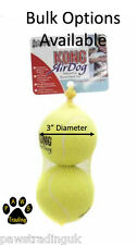Kong AirDog Squeaker Squeaky Tennis Ball Large Size Dog Balls Puppy Bulk Options