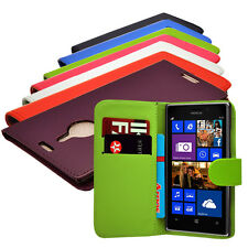 7 Colour Pu Leather Wallet Flip Mobile Phone Case Cover For Nokia Lumia 1520