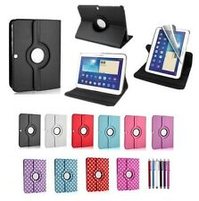 New 360 Rotating Leather Case For Samsung Galaxy Tab 3 10.1 Inch P5200 P5210