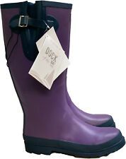 Dock of the Bay Ladies Pelican Rubber Rich Wellies Wellington Boots Rain Snow