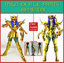 GOLD OCE/ACE PANTS APPENDIX, para SAINT SEIYA MYTH CLOTH y EX. Casual MILO civil