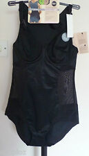 M&S Woman Secret Slimming Perfect Poise Firm Control Body £39.50 Nude Black