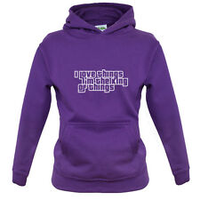 I Love Things I'm The King Of Things - Kids / Childrens Hoodie - 7 Colours