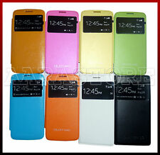 Premium Leather S View Working Flip Cover Case for Samsung Galaxy Grand 2 G7102