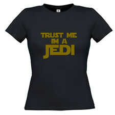 NEW TRUST ME IM A JEDI LADIES FUNNY T SHIRT, STAR WARS, HOODIES ALSO AVALIABLE
