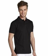 SOL'S Perfect Mens Polo Shirt 100% Cotton Plain Collared Short Sleeve Golf Top