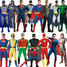 Adult Mens Muscle Chest Padded Superhero Fancy Dress New Costume Movie Outfit
