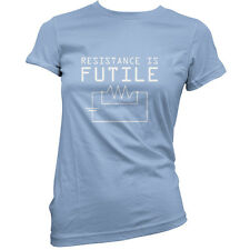 Resistance is Futile - Womens / Ladies T-Shirt - Science / Physics - S-XXL