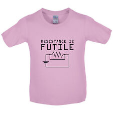 Resistance is Futile - Kids / Childrens T-Shirt  Science / Physics / Geek