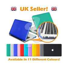 All Colours - 11, 12, 13, 15 Inch Rubberised/Crystal Apple Macbook Case Cover