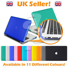 All Colours -11, 12, 13, 15 Inch Crystal/Rubberised Apple Macbook Air Case Cover