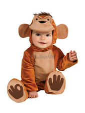 Child Funky Monkey Jungle Animal Outfit Fancy Dress Costume Ape Chimp Boys Kids