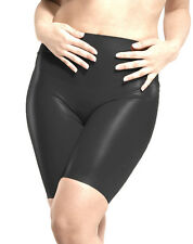 BLACK PREMIER LATEX RUBBER BERMUDA SHORTS XL L M S