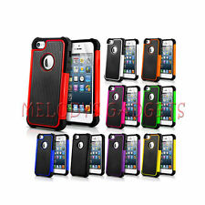 APPLE IPHONE 5 SHOCK PROOF CASE COVER FREE SCREEN PROTECTOR STYLUS & CLOTH