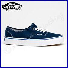 "VANS Scarpe UOMO Shoes ""AUTHENTIC"" New NAUTIC BLUE Mens SKATE Vulc NUOVE Classic"