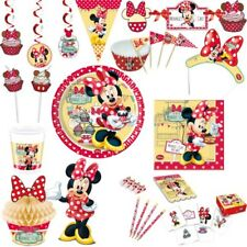 Minnie Maus Party Dekoration Kinder Geburtstag Minni Mouse Disney Deko Set Feier