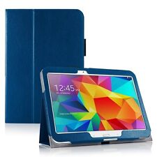 Folding Smart Leather Stand Case for Samsung Galaxy Tab 4 10.1 Inch T530 T531