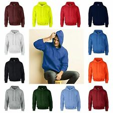 Gildan DryBlend Hooded Sweatshirt Mens Pullover Plain Hoodie Hoody Sweat Top New