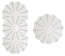 Petal- Anti-Slip White Bath and Shower Mat Set By Showerdrape