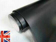 Matt Black Vinyl Wrap Car (Air/Bubble Free Matte) Multi Sizes, Air Channels