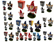 FOOTBALL FC CLUB MINI GARDEN FLAG GNOME TEAM SUPPORTER XMAS FARTHERS BOXED GIFT