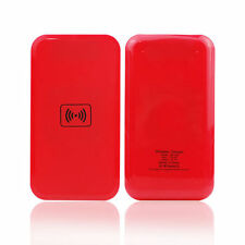 Qi Wireless Charger Charing Pad for  Nokia Lumia 920 820 Google Nexus 4  7 Red