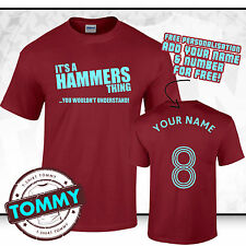 West Ham T-Shirt, Its A Hammers thing, Hammers T-Shirt West Ham