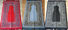 Packed Prayer mat rug with sponge base Turkish Muslim Islamic *BUY 3 GET 1 FREE*