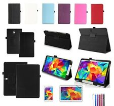 Leather Stand Folding Folio Case Cover  For Samsung Galaxy Tab 4 Tab S Tab PRO