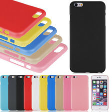 Slim Matte Rubberized Hard Plastic Back Case Cover for Apple iPhone 6 and 6 Plus