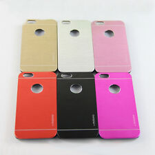 Deluxe Motomo Aluminium Hard Case Skin Pouch Cover for Apple iPhone 6 and 6 Plus
