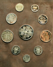 POLISHED BIRTHDAY COINS YEAR SETS 1953 - 1967  FREE UK POST