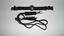 paracord bracelet and a lanyard - also included Mini Survival Kit with Tin