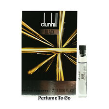Dunhill Black for Men by Dunhill * NEW Fragrance Travel Vial Sample * EDT Splash