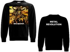 LIVING DEATH - Metal Revolution - Sweat Shirt Sweater Pulli - Größe Size M + XL