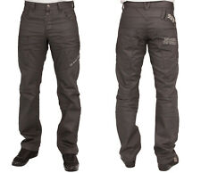 MENS NEW JEANS ENZO EZ259 DARK GREY STRAIGHT FIT SIZES 28 TO 40 RRP £39.99