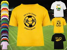 BURTON ALBION Football Baby/Kid's/Children's T-shirt Top Personalised-Any colour