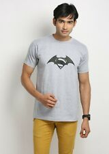 Stylish Superman Vs Batman Round Neck T-Shirts
